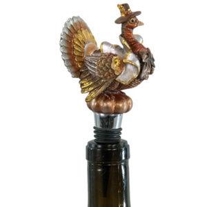 Thanksgiving Turkey Wine Bottle Topper Stopper